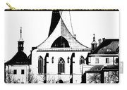 Emauzy - Benedictine Monastery Carry-all Pouch by Michal Boubin