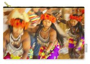 Embera Villagers In Panama Carry-all Pouch