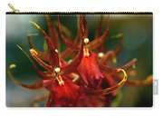 Embraced By An Orchid Carry-all Pouch by Karen Wiles