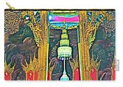 Emerald Buddha In Royal Temple At Grand Palace Of Thailand Carry-all Pouch