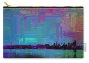 Emerald City Skyline Cubed Carry-all Pouch