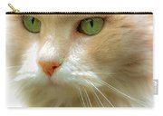 Emerald Eyes Carry-all Pouch