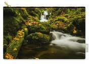 Emerald Falls In Columbia River Gorge Oregon Usa Carry-all Pouch