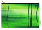 Emerald Flow Abstract IIi Carry-all Pouch