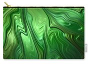 Emerald Flow Carry-all Pouch