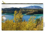 Emerald Lake At Carcross Yukon Territory Canada Carry-all Pouch
