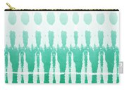Emerald Ombre  Carry-all Pouch by Linda Woods