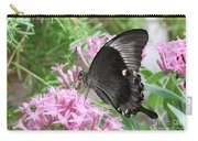 Emerald Peacock Swallowtail Butterfly #5 Carry-all Pouch