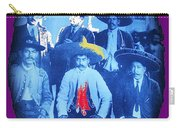 Emiliano Zapata In Group Portrait Xochimilco  Outside Of Mexico City 1914-2013 Carry-all Pouch
