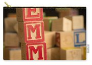 Emma - Alphabet Blocks Carry-all Pouch