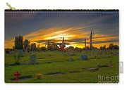 Emmett Cemetery Carry-all Pouch by Robert Bales