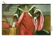 Emperor Francis I 1708-65 Holy Roman Emperor, Wearing The Official Robes Of The Order Of St. Stephan Carry-all Pouch
