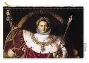 Emperor Napoleon I On His Imperial Throne Carry-all Pouch