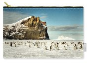 Emperor Penguin Colony Cape Washington Antarctica Carry-all Pouch