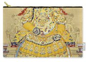 Emperor Qianlong In Old Age Carry-all Pouch