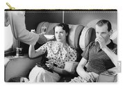 Empire Flying Boat Lounge Carry-all Pouch by Underwood Archives