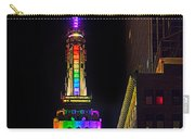 Empire State Building Lit For Gay Pride Carry-all Pouch