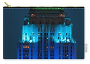 Empire State Building Lit Up At Night Carry-all Pouch