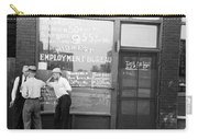 Employment Bureau, 1937 Carry-all Pouch