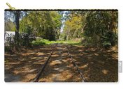 Empty Railroad Tracks Carry-all Pouch