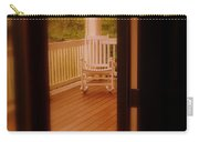 Empty Rocking Chair Carry-all Pouch