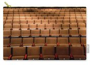 Empty Theater Chairs In Ventura Arts Carry-all Pouch