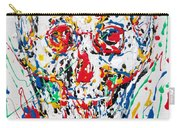 Enamels Skull Painting Carry-all Pouch