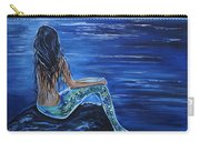 Enchanting Mermaid Carry-all Pouch by Leslie Allen