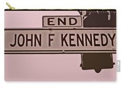 End Of John F Kennedy Street In San Francisco Carry-all Pouch