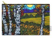 End Of Summer Birches Carry-all Pouch