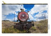 End Of The Line - Steam Locomotive Carry-all Pouch