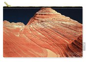 Endless Lines In Sandstone Carry-all Pouch
