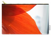 Enfolding In Orange Carry-all Pouch