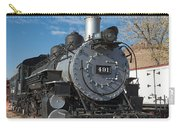 Engine 491 In The Colorado Railroad Museum Carry-all Pouch