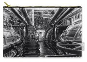 Engine Room Queen Mary 02 Bw 01 Carry-all Pouch