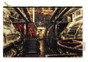 Engine Room Queen Mary 02 Sepia Carry-all Pouch