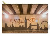 England Graffiti Landmarks Carry-all Pouch