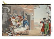 England, Illustration From Hogarth Carry-all Pouch
