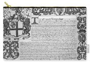 England Trade Charter Carry-all Pouch