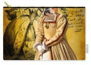 English Bulldog Art Canvas Print  Carry-all Pouch