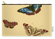 English Butterflies Carry-all Pouch