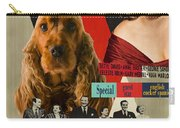 English Cocker Spaniel Art - All About Eve Carry-all Pouch