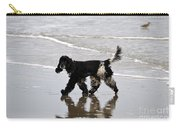 English Cocker Spaniel On The Beach Carry-all Pouch