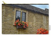 English Cottage Flower Box Carry-all Pouch