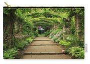 English Country Garden Carry-all Pouch