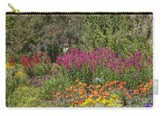 English Garden In Summertime Carry-all Pouch
