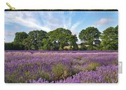 English Lavender Fields In Hampshire Carry-all Pouch