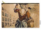 English Playing Card, C1754 Carry-all Pouch