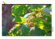 English Raspberries Carry-all Pouch
