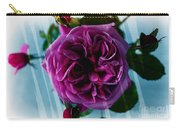 English Rose - Purple Rose - Fragrant Rose Carry-all Pouch